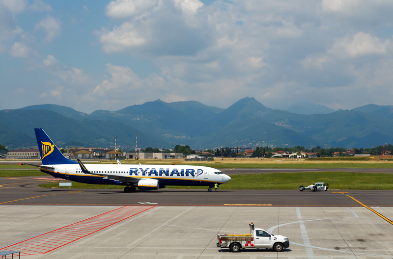 Orio al Serio International Airport serves Bergamo and Milan area.